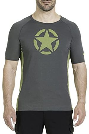 Jeep Star Print J7S Camiseta, Hombre