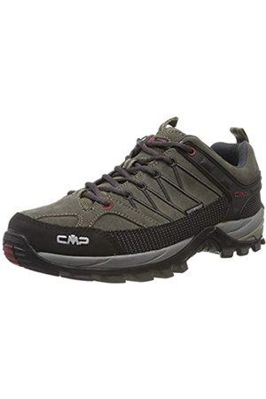CMP Rigel, Zapatos de Low Rise Senderismo Hombre, (Torba-Antracite 02pd)