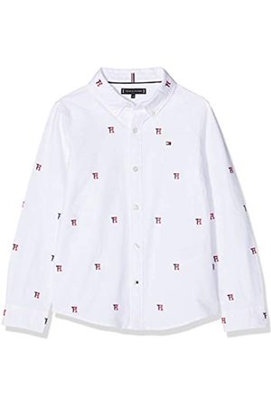 Tommy Hilfiger Allover TH Oxford Shirt L/s Camisa Manga Larga