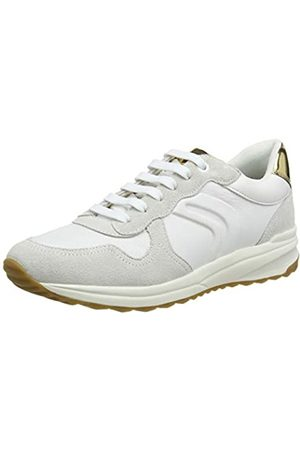 Geox D Airell C, Zapatillas para Mujer, (White C1000)