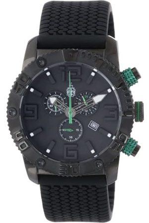 Burgmeister BM521-622C - Reloj analógico de Cuarzo para Hombre con Correa de Silicona