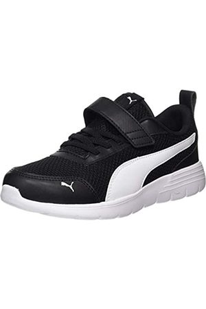 Puma Flex Renew AC PS, Zapatillas Unisex bebé, Black White 02
