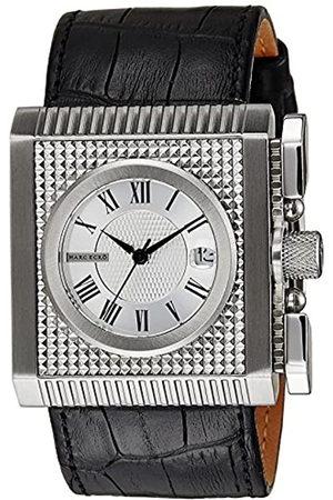 Marc Ecko Reloj Análogo clásico para Hombre de Cuarzo con Correa en Cuero E15093G1