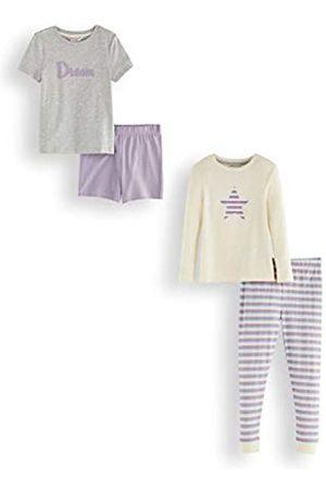 RED WAGON Marca Amazon - Pijama de Satén Niñas, Pack de 2, 116