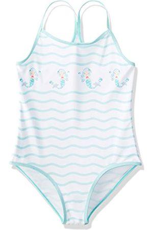 RED WAGON Mermaid Stripe Swimsuit Baño para Niñas