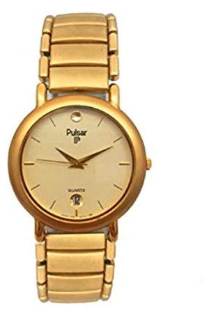 Seiko Pulsar Reloj Analog-Digital para Womens de Automatic con Correa en Cloth S0317282