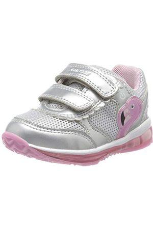 Geox B Todo Girl C, Zapatillas para Bebés, (Silver/Pink C0566)