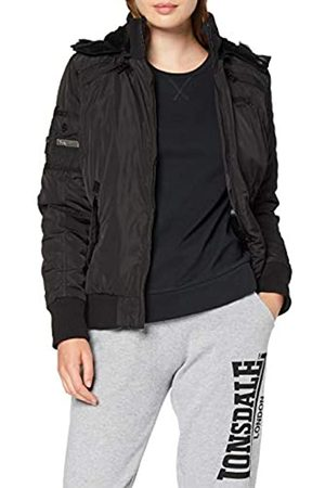 Lonsdale London London Ulwell - Chaqueta de Invierno con Capucha para Mujer, Mujer, 115794