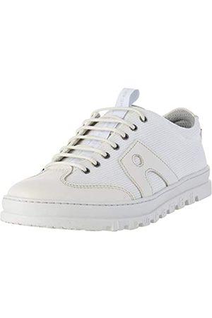 Art 1527 Multi Leather Mainz, Zapatos de Cordones Brogue para Mujer, (White White)