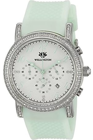 Daniel Wellington Amberley WN505-110B - Reloj analógico de Cuarzo para Mujer con Correa de Silicona