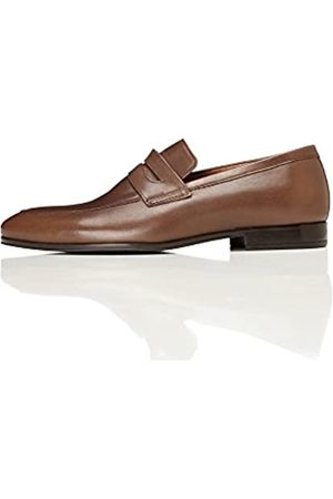 FIND AMZ32/01 Mocasines Men's, (Brown)