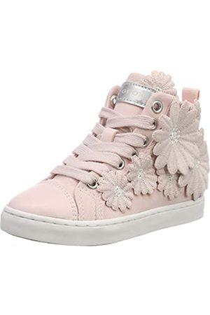 Geox Jr Ciak Girl L, Zapatillas Altas para Niñas, (Light Rose)