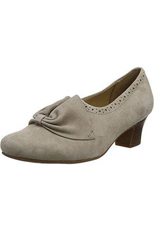 Hotter Donna Zapatos de tacón con punta cerrada Mujer, (Truffle Brogue 335)