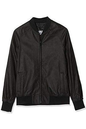 Urban classics Imitation Leather Raglan Blouson Chaqueta