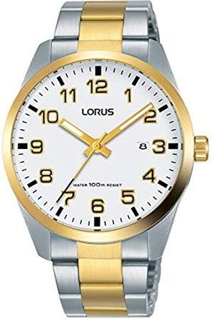 Lorus Reloj Analogico para Hombre de Cuarzo con Correa en Acero Inoxidable RH972JX9