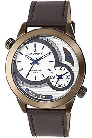 Radiant Reloj Analógico para Hombre de Cuarzo con Correa en Cuero RA435601
