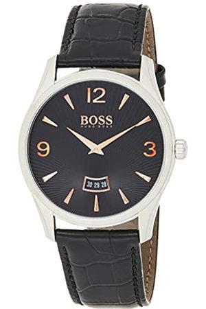 HUGO BOSS Reloj análogico de cuarzo con correa de cuero para hombre - 1513425