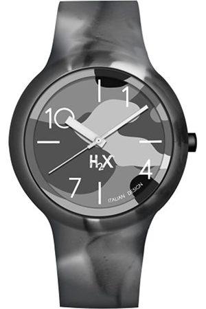 Haurex Reloj Analógico para Hombre de Cuarzo con Correa en Caucho SG390UCA