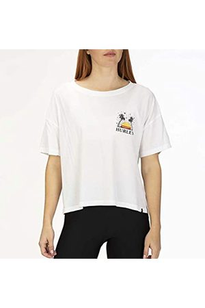 Hurley W Sun Stripes Flouncy tee Camisetas, Mujer