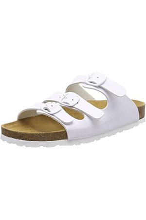 LICO Bioline Classic, Mules para Mujer, (Weiss Weiss)