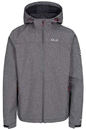 DLX Gabe Chaqueta Impermeable Softshell con Capucha Ajustable, Hombre