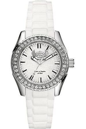 Marc Ecko Reloj Análogo clásico para Mujer de Cuarzo con Correa en Silicona E11599M2