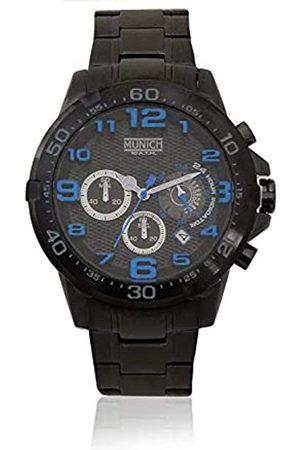 Munich Reloj Analógico para Unisex Adultos de Cuarzo con Correa en Acero Inoxidable MU+139.1C