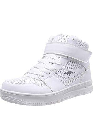 KangaROOS Future-Space Hi, Zapatillas Altas Unisex niños, (White 0000)