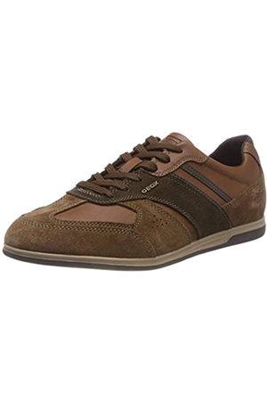 Geox U Renan A, Zapatillas para Hombre, (Browncotto/Dk Coffee C6g6t)