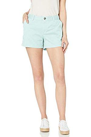 Amazon Pantalón corto chino con tiro de 8,89 cm para mujer