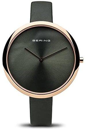 Bering RelojAnalógicoparaMujerdeCuarzoconCorreaenCuero12240-667