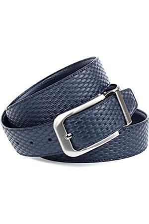 Anthoni Crown Ledergürtel Cinturón 90 para Hombre