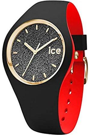 Ice-Watch ICE loulou Black Glitter - Reloj nero para Mujer con Correa de silicona - 007227 (Small)