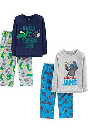 Simple Joys by Carter's Pijama para niños pequeños y niños pequeños, 4 piezas