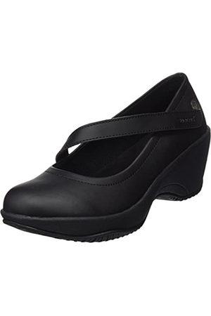 Suecos Lena, Zapatos de Trabajo para Mujer, (Black)