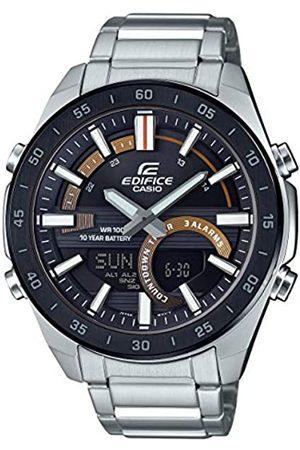 Casio Hombre Relojes - Reloj para Hombre de Cuarzo con Correa en Acero Inoxidable ERA-120DB-1BVEF