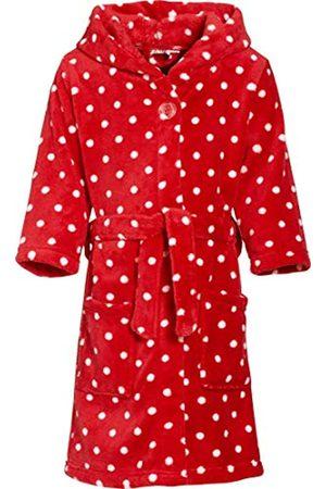Playshoes Bata de baño con capucha de manga larga para niña, 100% poliéster