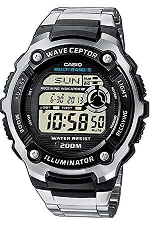 Casio WAVE CEPTOR Reloj Radiocontrolado, , para Hombre, con Correa de Acero inoxidable