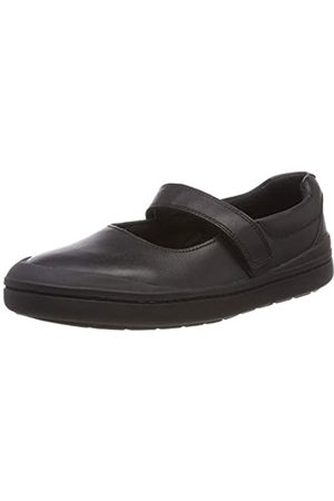 Clarks Rock Spark K, Bailarinas para Niñas, (Black Leather-)