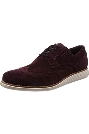 Rockport Total Motion Sport Dress Wingtip Brogue, Zapatos de Cordones Hombre, (Burgundy SDE 001)