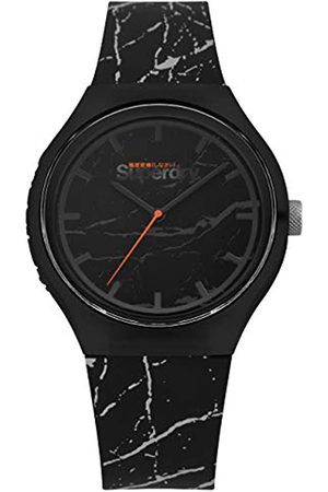 Superdry Reloj Analógico para Hombre de Cuarzo con Correa en Silicona SYG253BE
