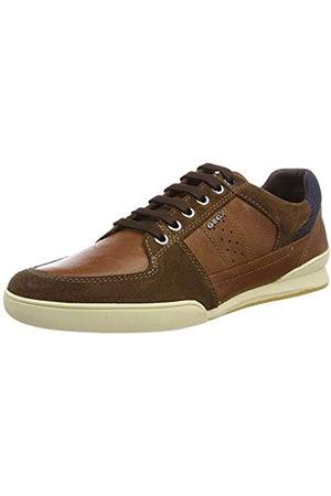 Geox U Kristof B, Zapatillas para Hombre, (Browncotto C6003)