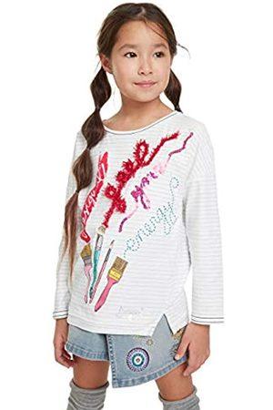 Desigual T-Shirt Newcastle Camiseta de Manga Larga, ( 1000)