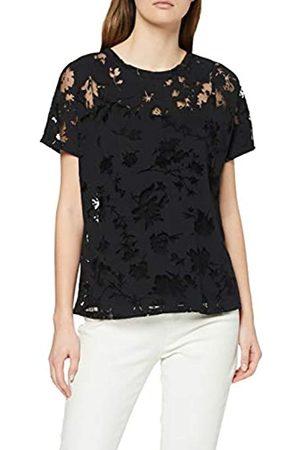 Desigual Tshirt Devore Black Camiseta