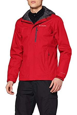 Columbia Hombre Chaqueta impermeable, Pouring Adventure II Jacket, Nailon, Talla: XS