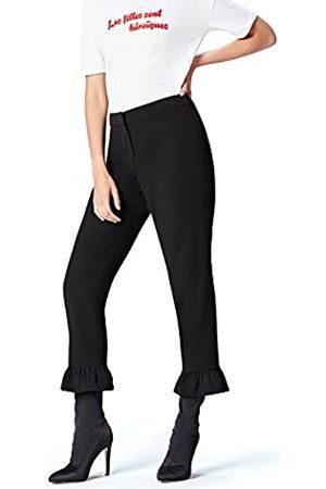 FIND Pantalones Cropp con Volante para Mujer