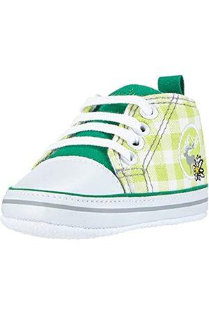 Playshoes Primeros Zapatos Venado, Zapatillas Casual Unisex bebé, (Gruen 29)