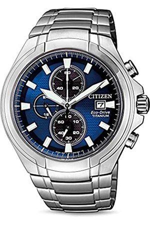 Citizen Reloj Analógico para Hombre de Cuarzo con Correa en Titanio CA0700-86L