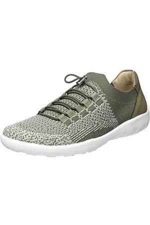 Remonte R3514, Zapatillas sin Cordones para Mujer, (Khaki-Grey/Olive 54)