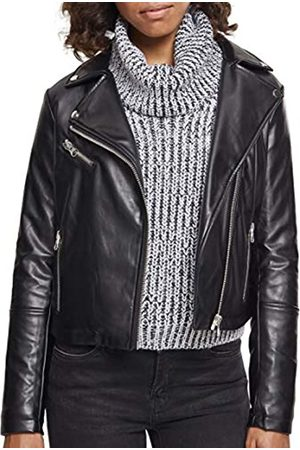 Urban classics Ladies Faux Leather Biker Jacket Chaqueta